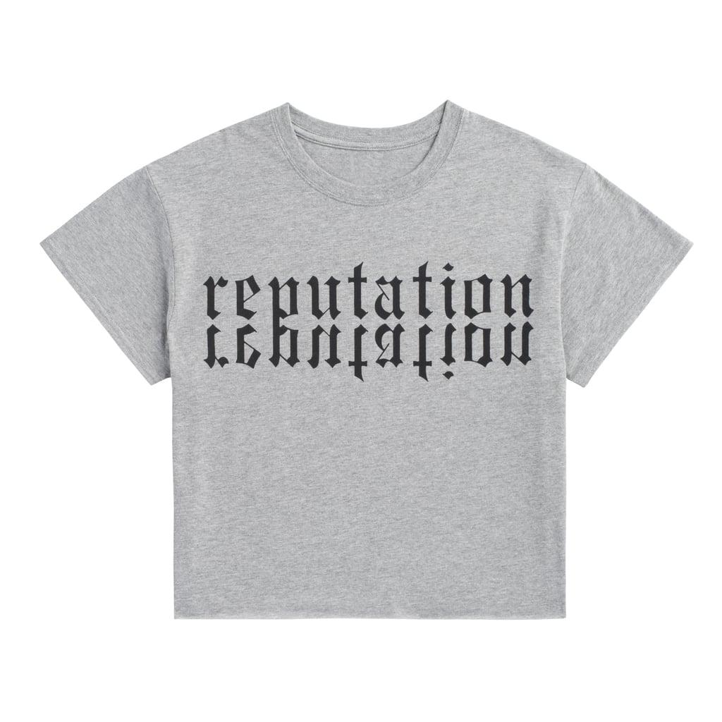Heather Grey Reputation Crop