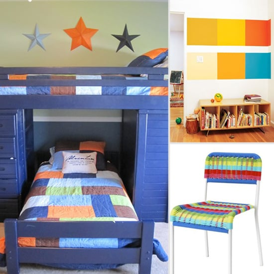 Colorblocked Kids Room Decor