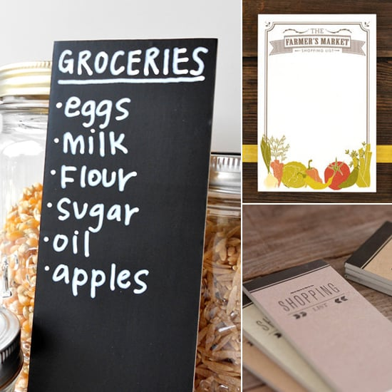 Don't Forget the Milk! 8 Adorable Market Lists