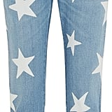 Stella McCartney Star Printed Mid-Rise Slim Boyfriend Jeans ($425)
