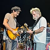 John Mayer performing with The Dead & Company in 2016.
