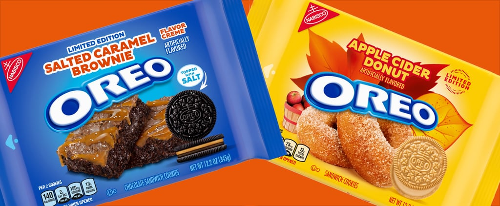 Oreo's Apple Cider Donut and Salted Caramel Brownie Cookies
