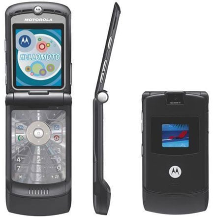 Daily Tech: The RAZR V3 Is the Top Selling Cell In the U.S