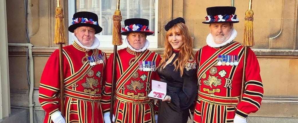Charlotte Tilbury Receives MBE From the Queen