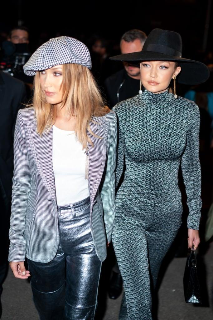 Bella Hadid S Brown Hair Colour At Paris Fashion Week