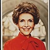 Nancy Reagan's Official Portrait, 1981
