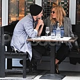 Sienna Miller and Tom Sturridge Have a Loved Up London Lunch