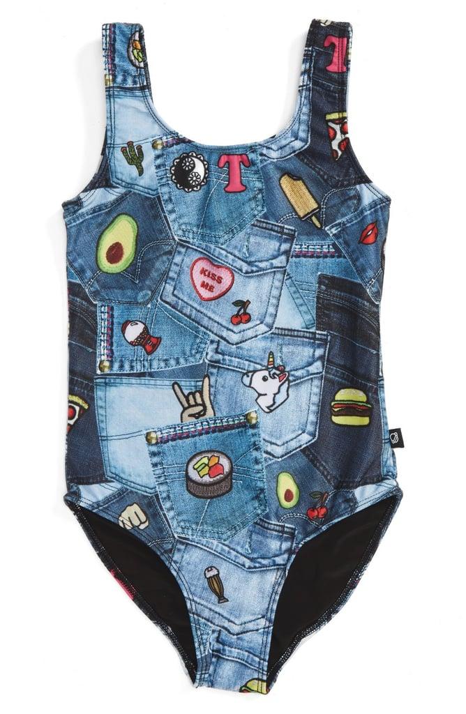 Terez Pocket Print One-Piece Swimsuit