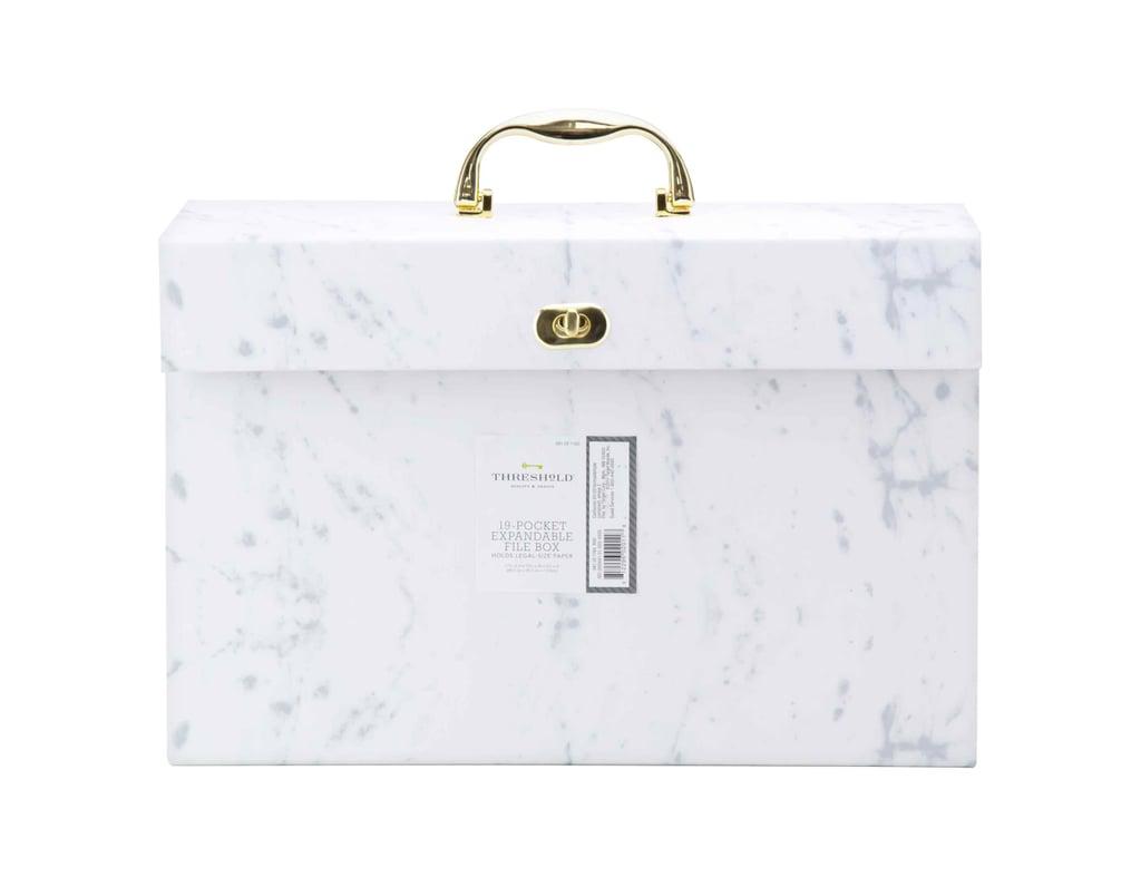 Expandable File Folder Box