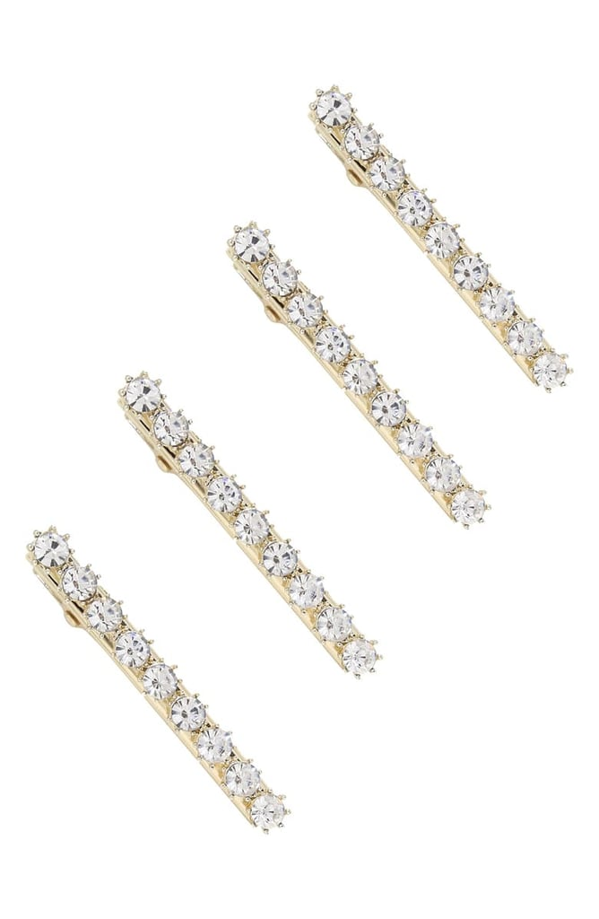 Ettika 4-Pack Crystal Hair Clips | Nordstrom