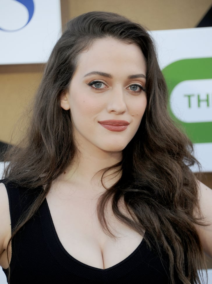Beth S Costar Kat Dennings Went For A Neutral Palette With
