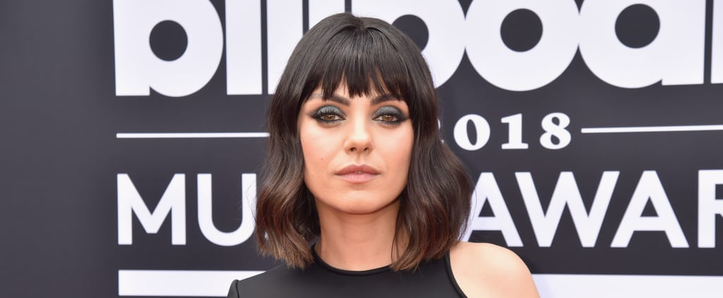 Mila Kunis With Bangs at the Billboard Music Awards 2018