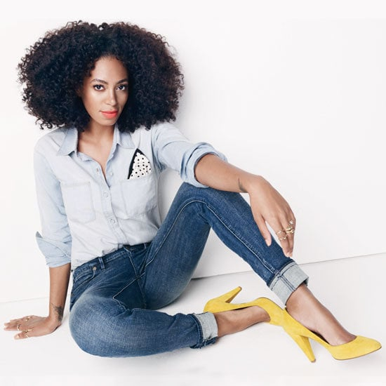 Style setter Solange Knowles mixed it up for the new Madewell campaign. Here's the complete Fall campaign.