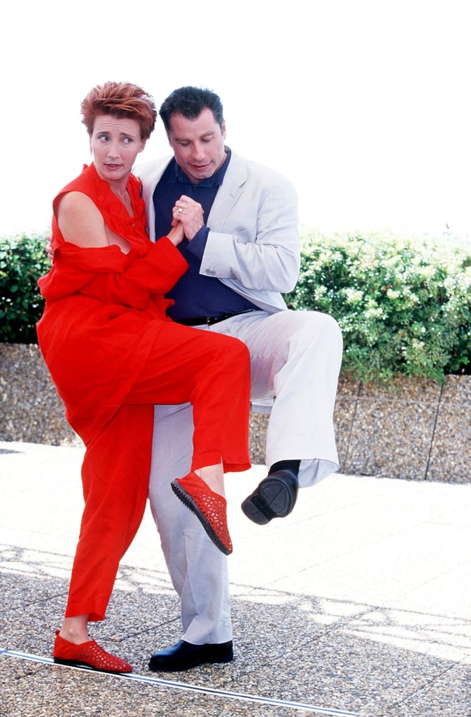 Emma Thompson and John Travolta did a funny dance in 1998.