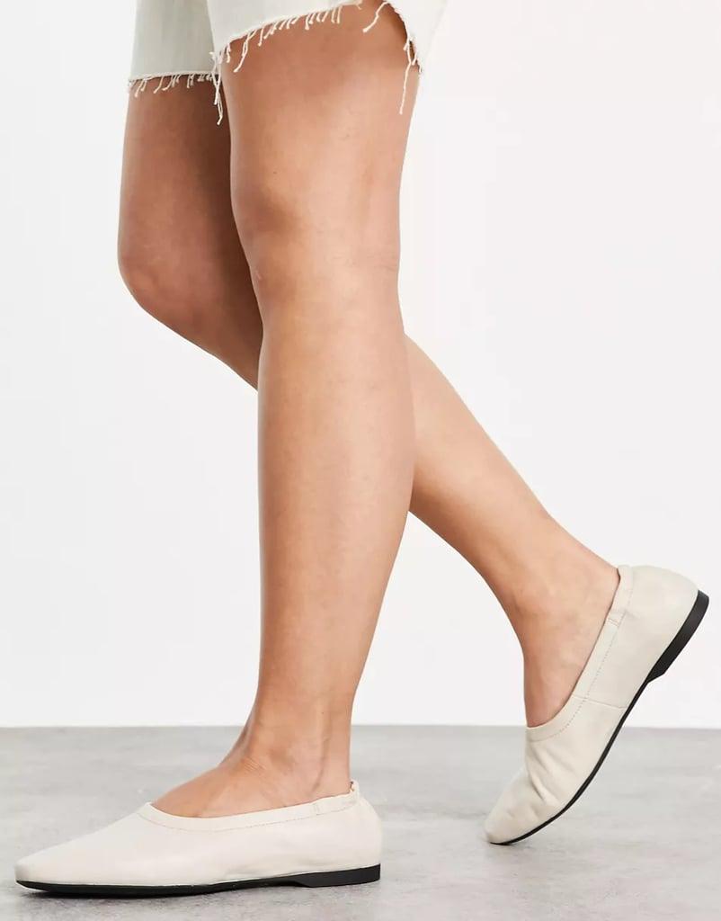 Vagabond Maddie Elasticized Leather Ballet Shoes