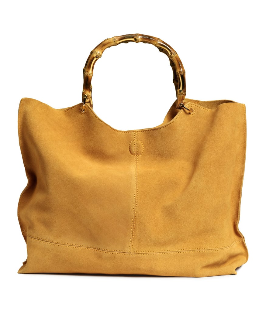 Suede Shopper With Clutch ($129)