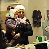 Nicole Richie and Harlow Shopping
