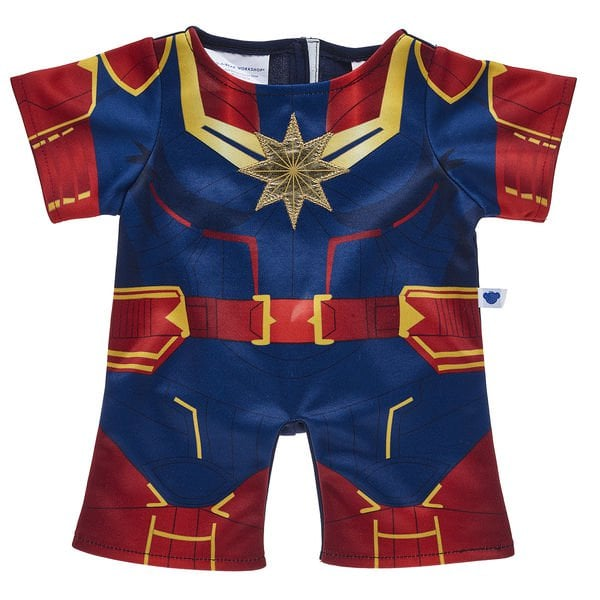 Captain Marvel Bear Costume Omg Build A Bear Is Releasing A Fierce Captain Marvel Bear Because Everyone Needs A Hero Popsugar Family Photo 4 From captain america and spiderman to hulk and wolverine, we have what you're looking for. captain marvel bear costume omg