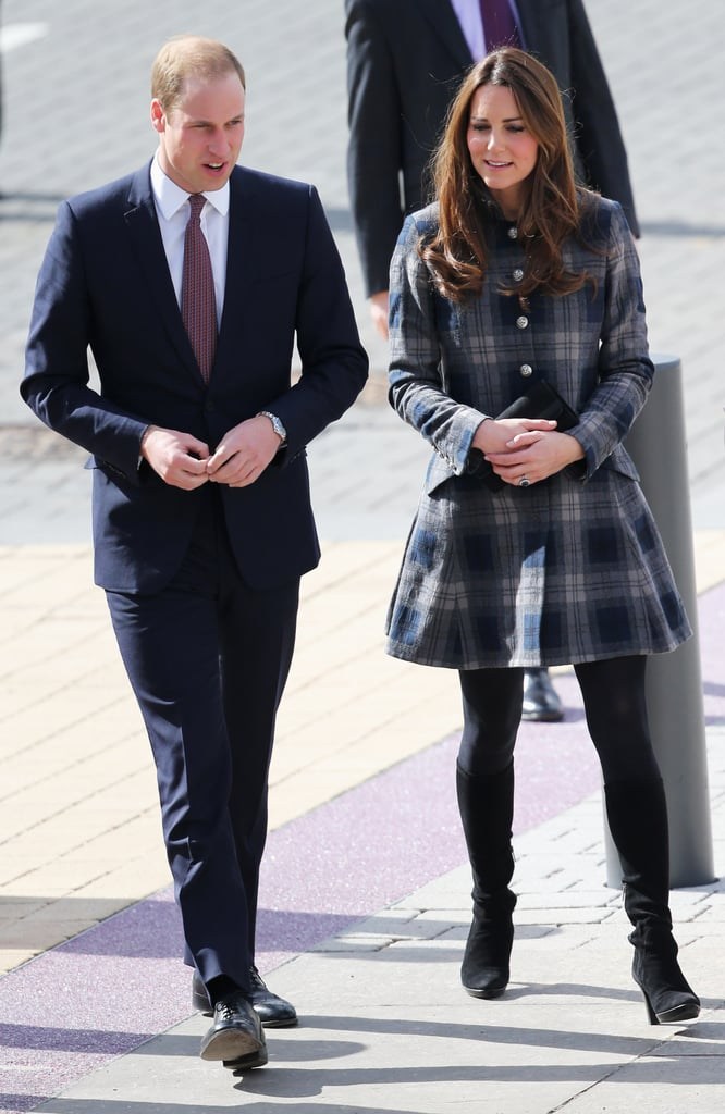 Kate Middleton and Prince William arrived in Glasgow.