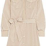 Tory Burch Brigitte Polka-Dot Stretch-Silk Dress