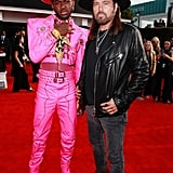 Lil Nas X at the 2020 Grammys With Billy Ray Cyrus