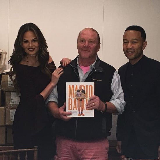 Mario Batali and Chrissy Teigen Twitter Q&A 2016