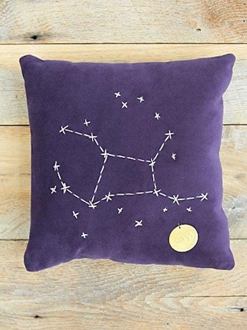 Virgo Star Sign Pillow ($98)