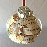 Harry Potter Book Ornament