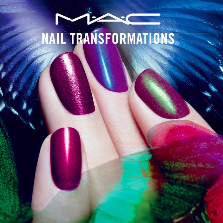 MAC and Marian Newman Nail Transformations Collaboration | POPSUGAR ...