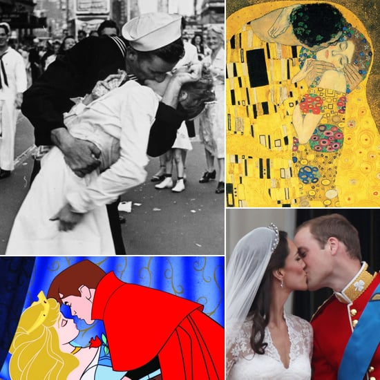 Pucker Up: Famous Kisses Through History