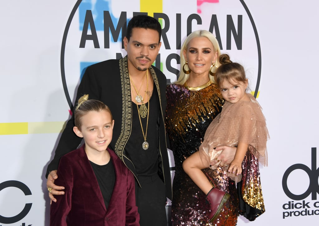 Evan, who has starred in ATL and The Hunger Games, married Ashlee Simpson at his mother's Connecticut estate in 2014. They welcomed their daughter Jagger in July 2015. They also share Ashlee's 9-year-old son Bronx from her previous marriage to Pete Wentz.