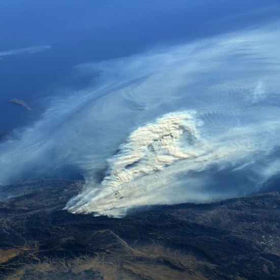 Pictures of the California Wildfires From Space Dec. 2017