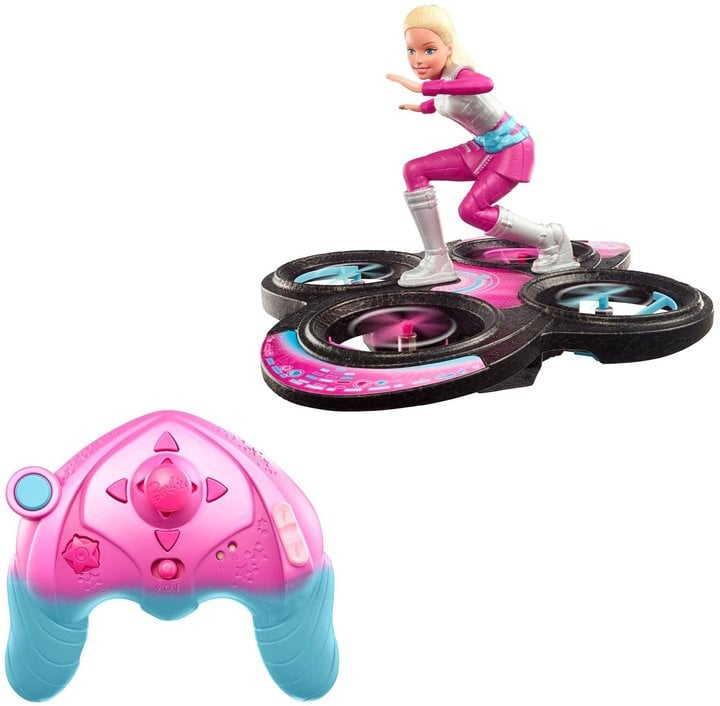 For 6-Year-Olds: Barbie Hover Girl