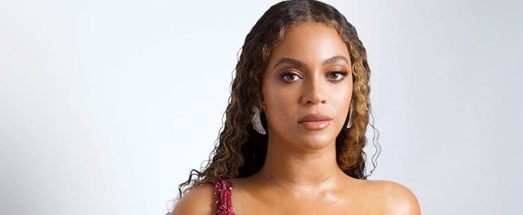 Beyoncé Wears Red Dress July 2019