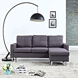 Modern Small Space Reversible Sectional Sofa