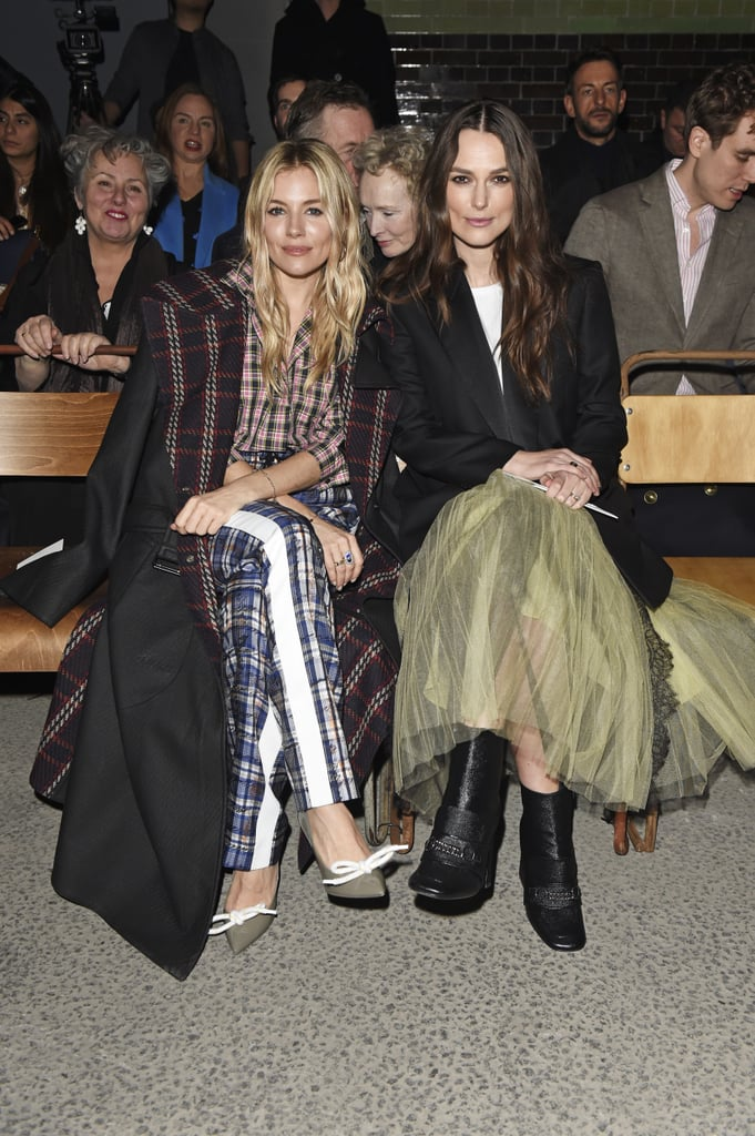 Burberry Front-Row Autumn Winter 2018