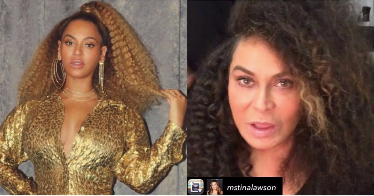 Beyonce's Hairstylist's Photo of Tina Knowles's Natural ...