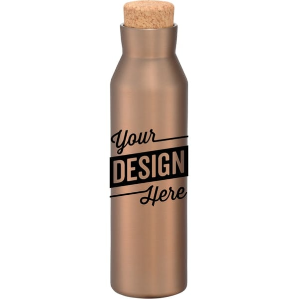 Copper Vacuum Water Bottle
