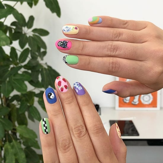 The Mismatched-Nail-Art Trend All Over Instagram