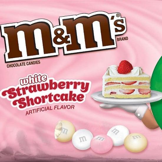 White Strawberry Shortcake and Strawberry M&M's