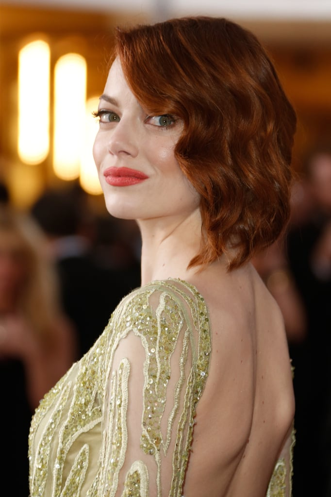 Emma Stone's 2015 Oscars Beauty Look