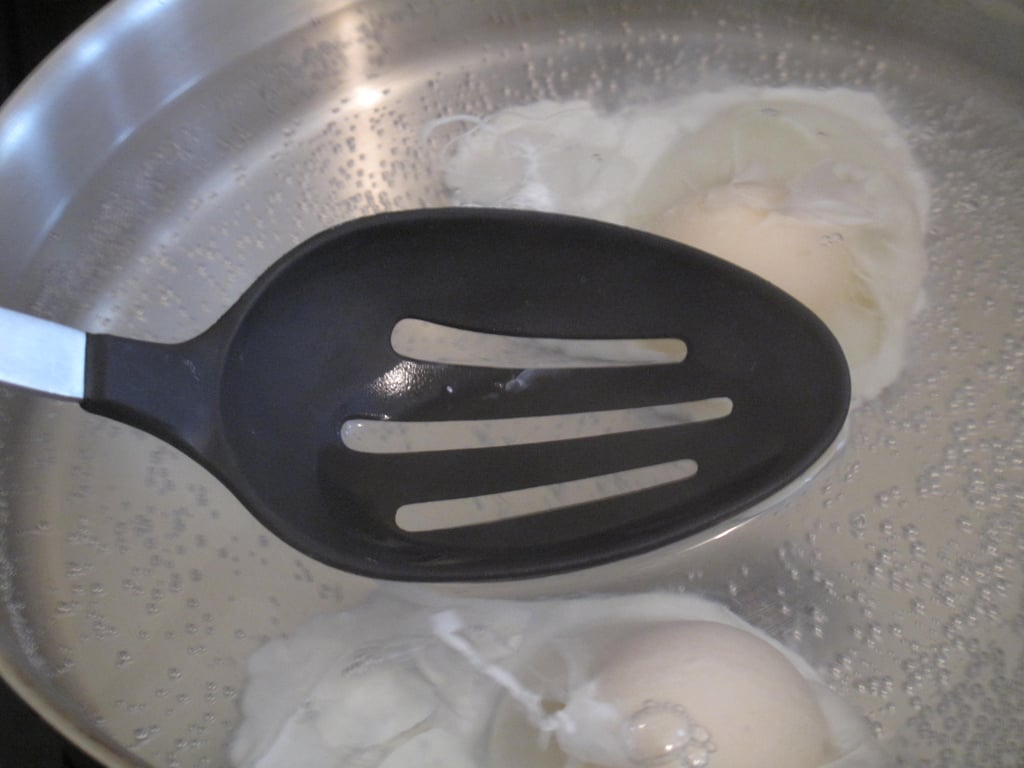 Give the eggs a light touch.