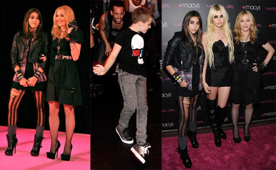 Launch of Madonna's Material Girl Clothing Line
