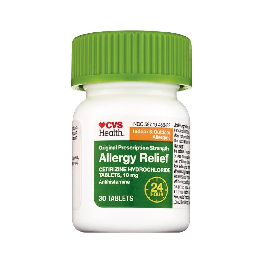 CVS Health All Day Allergy Cetirizine Hydrochloride Tablets