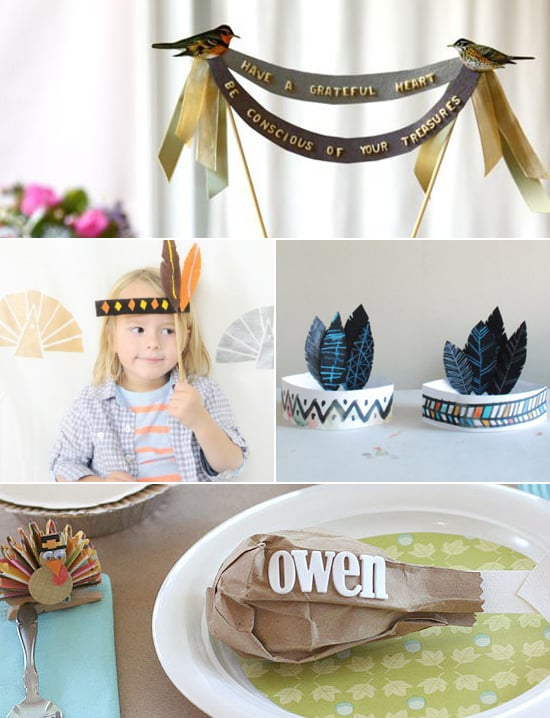 Thanksgiving Crafts Made From Paper Popsugar Moms