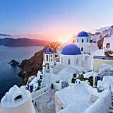 Watch the Sunset in Santorini, Greece