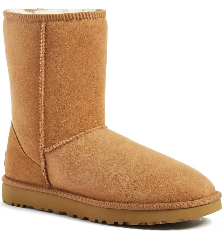 7068353c162b UGG Classic II Genuine Shearling Lined Short Boot