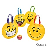 Medium Smile Face Tote Bags