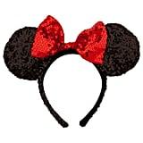 Minnie Mouse Ears Headband - Sequined ($25)