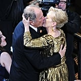 In 2012, she gave Don a big kiss when she won the Academy Award for best actress for her role in The Iron Lady.